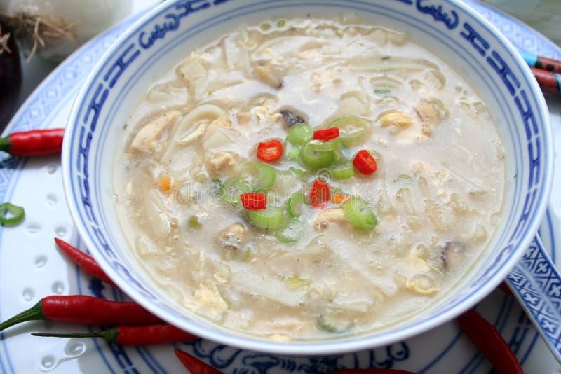 asiatisk soup royaltyfri fotografi