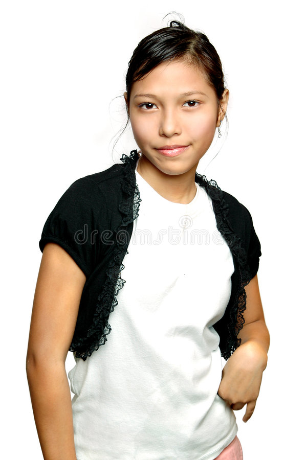 asiatisk tonåring royaltyfri fotografi
