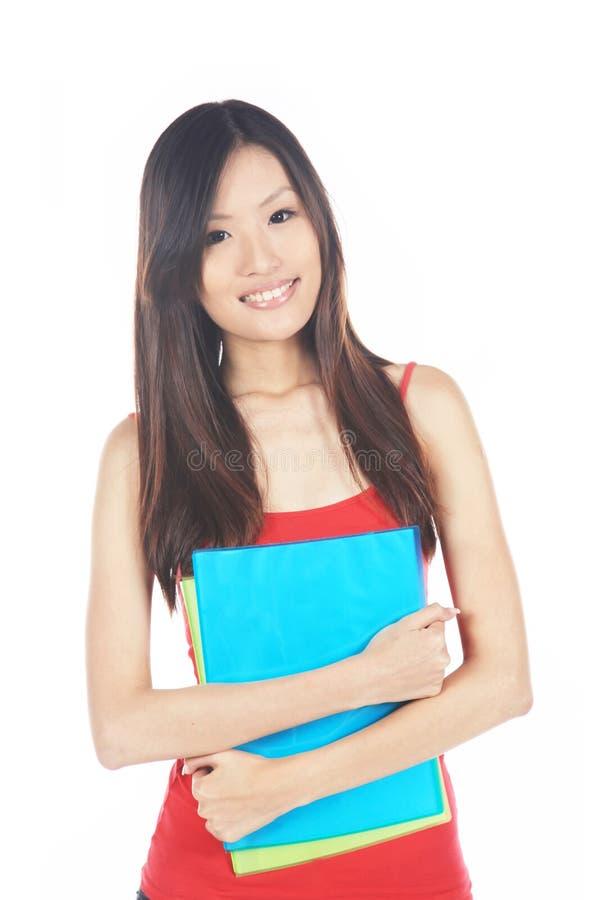 Asiatisk universitetardeltagare arkivfoto