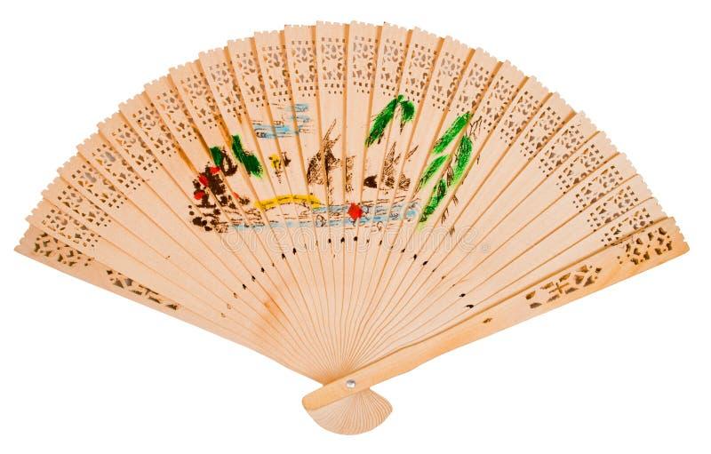 asiatisk ventilatorhand arkivfoton