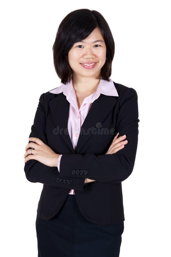 asiatiska affärskvinnor arkivfoto