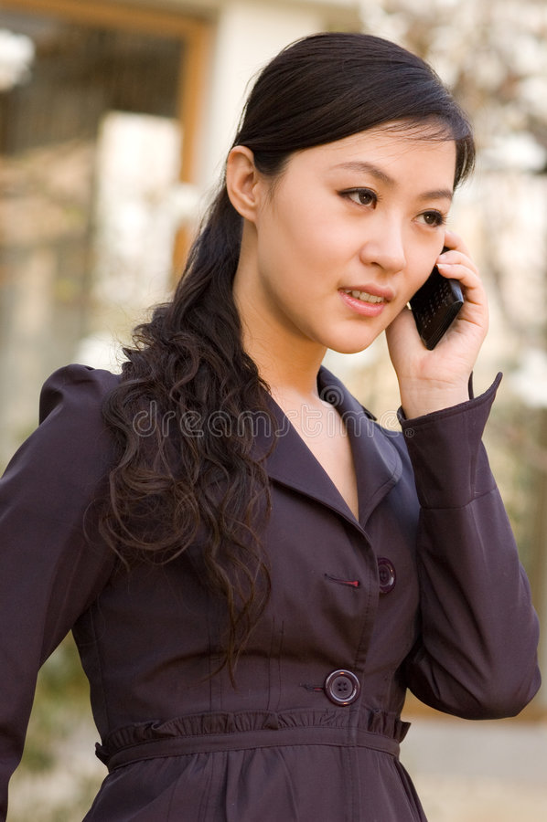 asiatiska flickor royaltyfri foto