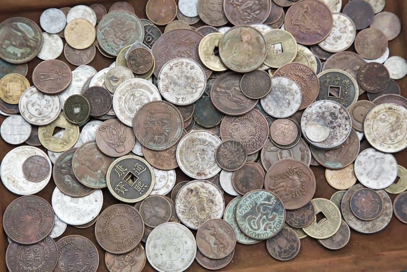 asiatiska mynt arkivfoto
