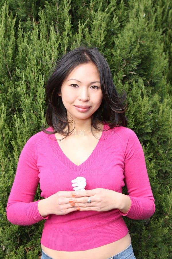 asiatiskt flickabarn royaltyfria bilder