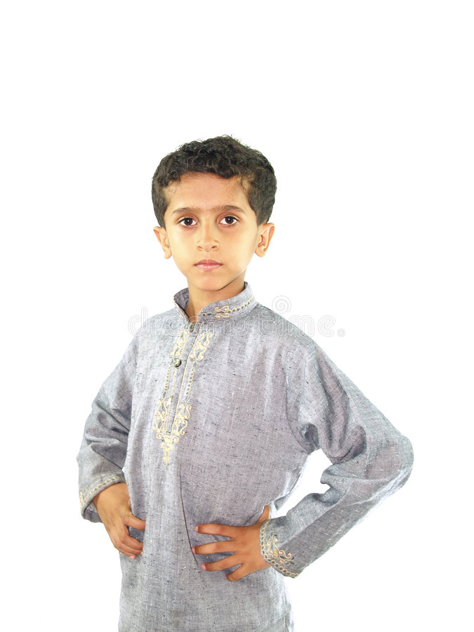 asiatiskt posera för pojke royaltyfria foton