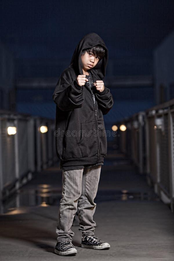 asiatiskt teen barn för pojke pre royaltyfri fotografi