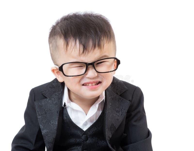 asien baby das lustiges gesicht hat stockfoto bild von hintergrund chinesisch 38120420. Black Bedroom Furniture Sets. Home Design Ideas