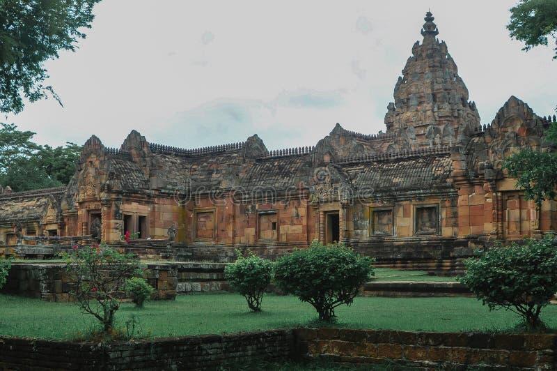 Asien Buriram, Thailand, forntida som är antik royaltyfria bilder