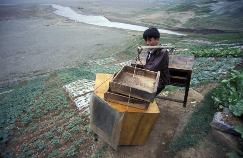 ASIEN CHINA DER JANGTSE stockbilder