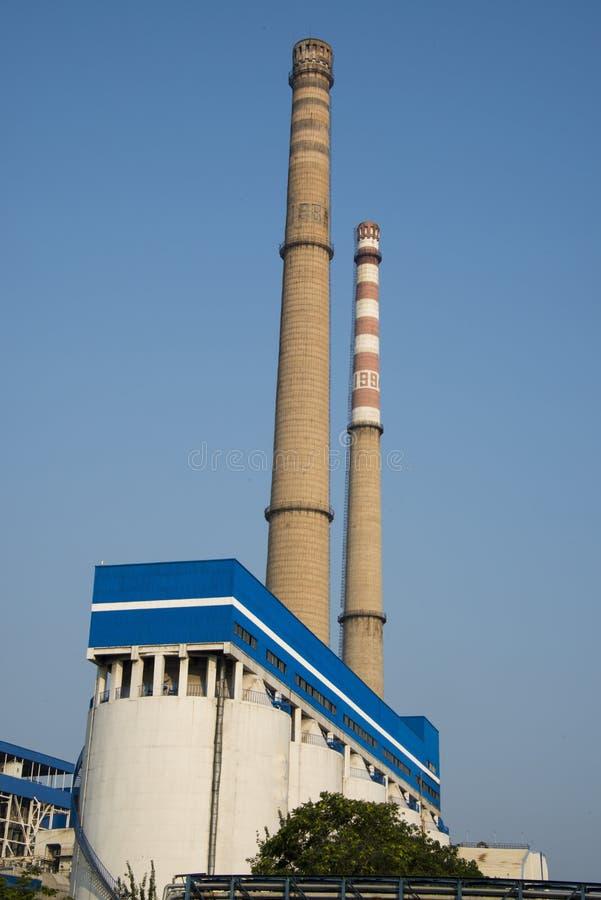 Asien, Chinese, Peking, Wärmekraftwerk, Ausrüstung, Kessel, Kamin ...