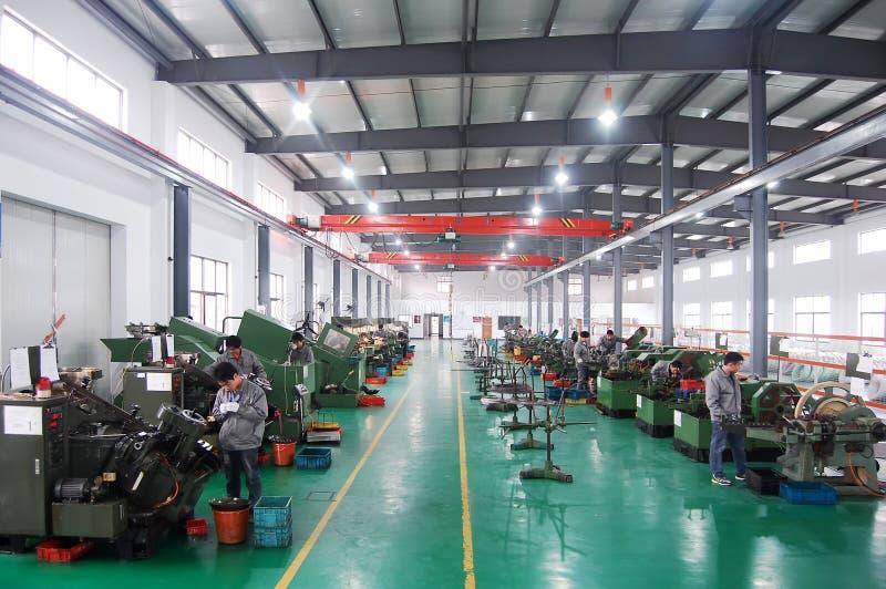 Asien-Fabrik lizenzfreie stockfotografie