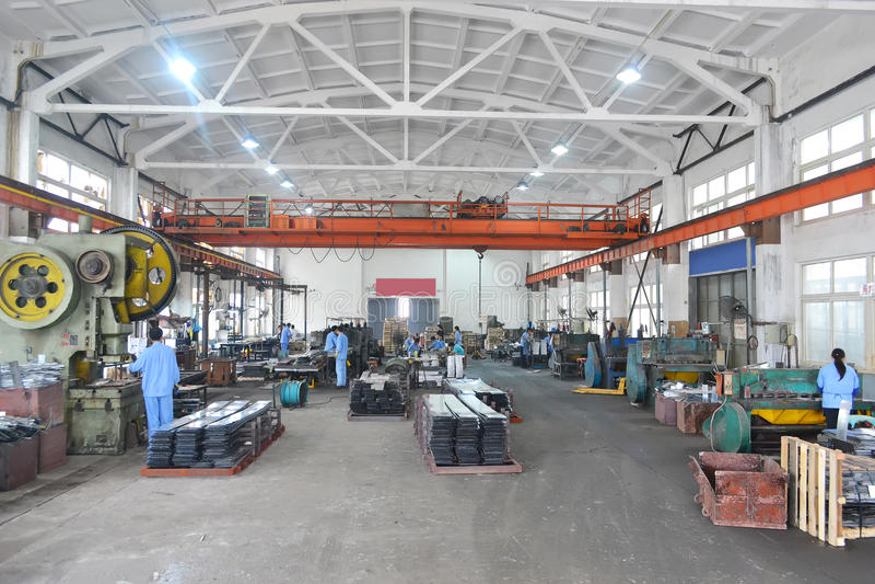 Asien-Fabrik stockfotografie