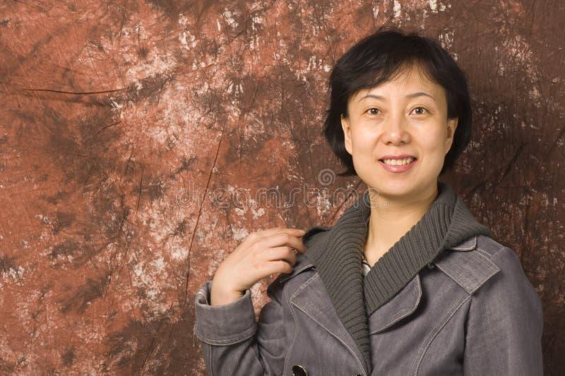 Asien-Frau stockfotos