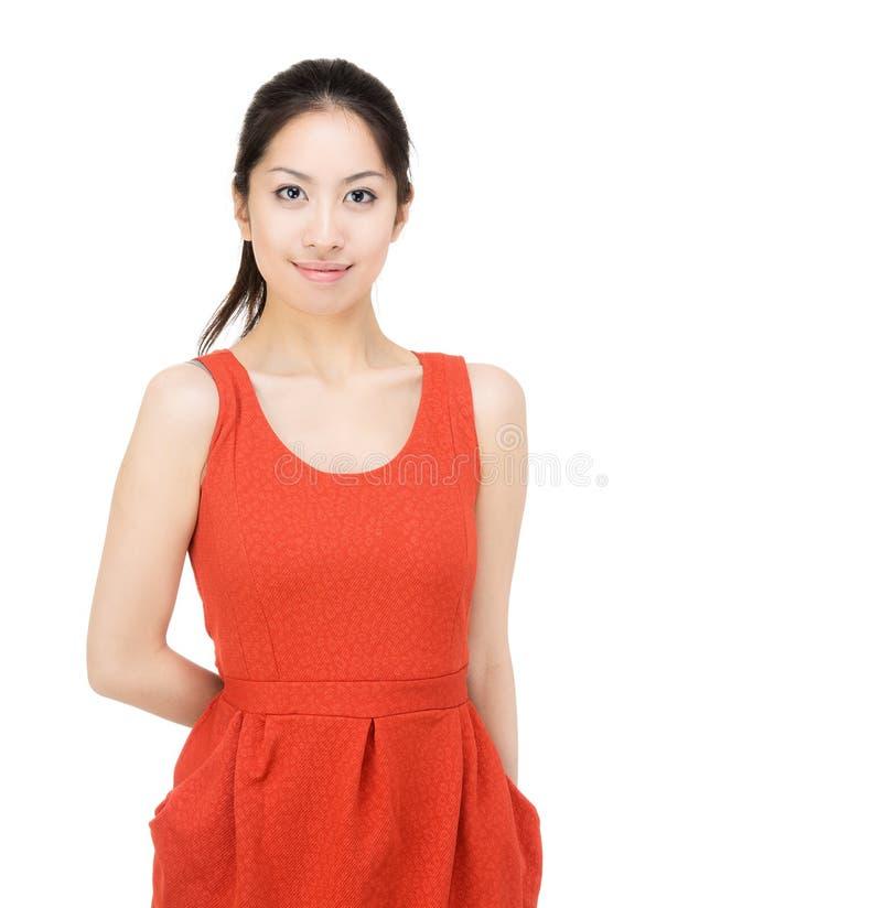 Asien-Frau lizenzfreies stockfoto