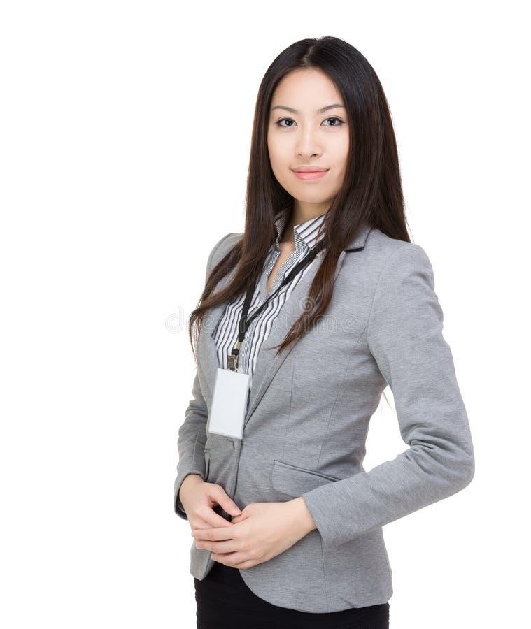 Asien-Geschäftsfrau stockfotos