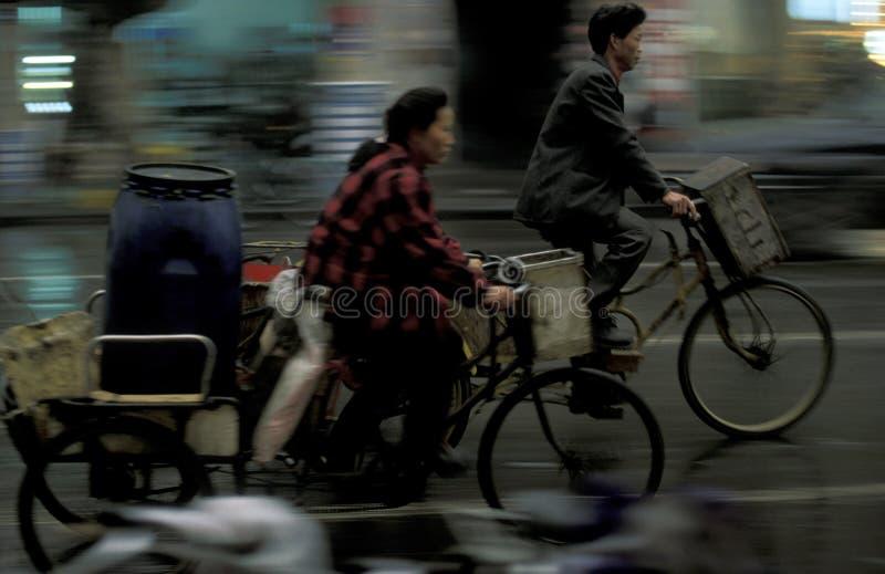 ASIEN KINA SICHUAN CHENGDU fotografering för bildbyråer