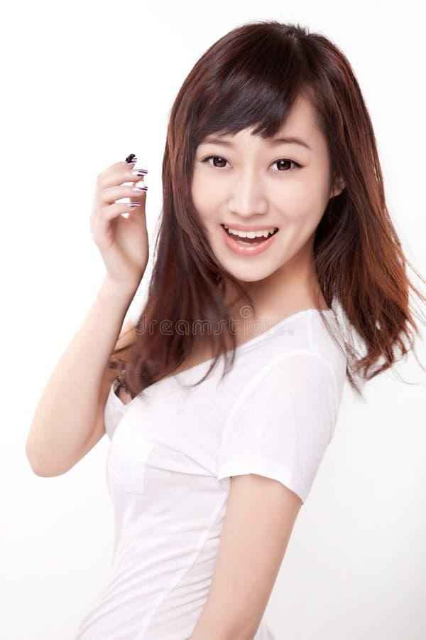 Asien-Mädchen stockfotos