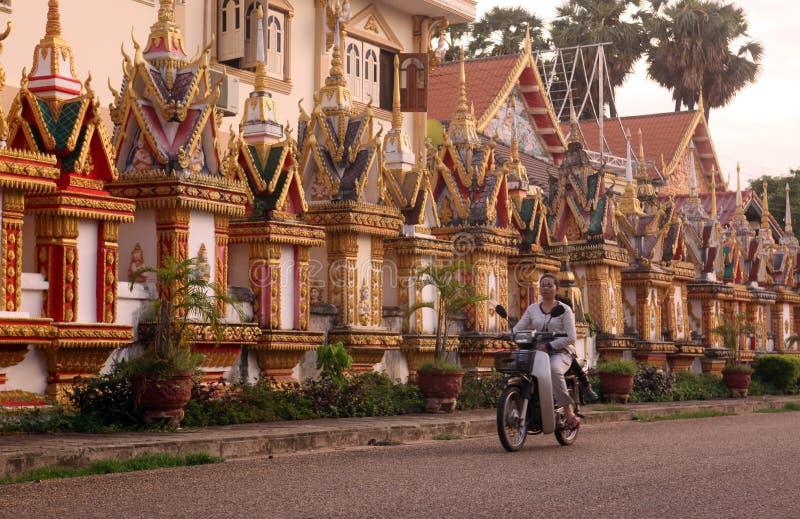 ASIEN SOUTH EAST ASIA LAOS KHAMMUAN REGION royaltyfri fotografi
