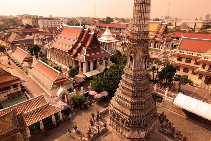 ASIEN THAILAND BANGKOK BANGLAMPHU WAT ARUN stockfotografie