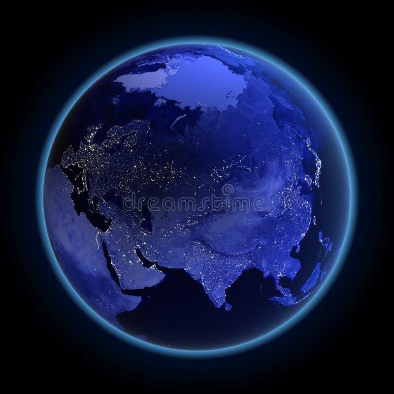 Asien und Russland
