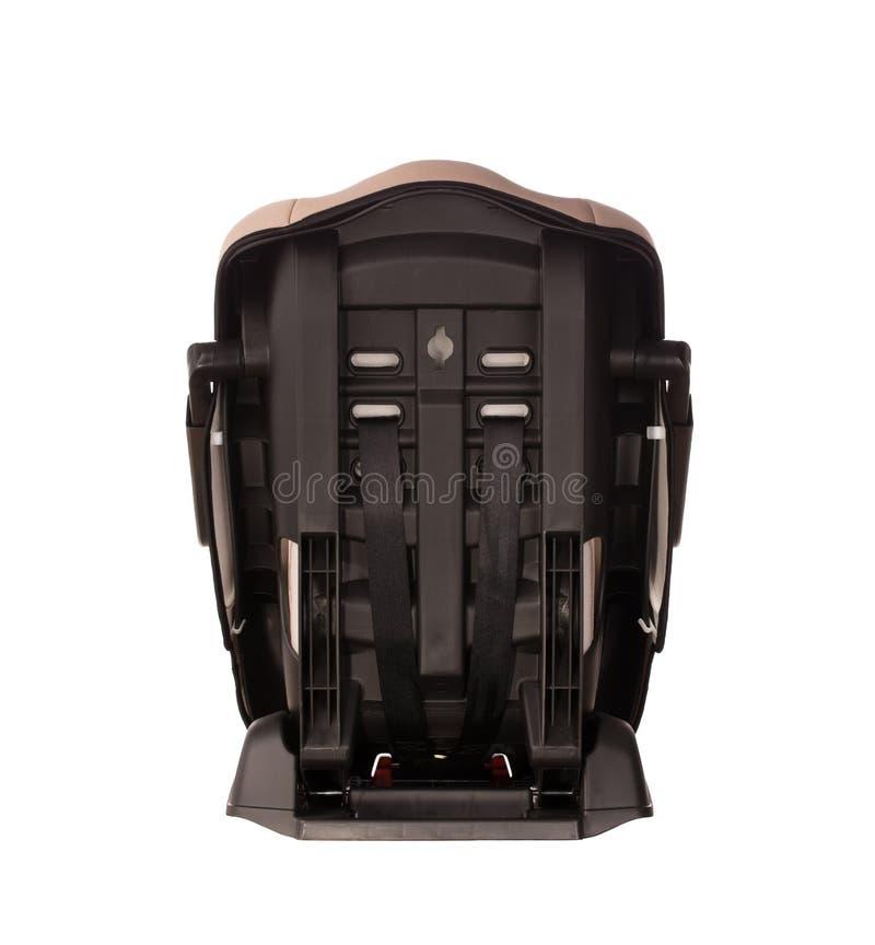 Asiento del aumentador de presión para un coche imagen de archivo