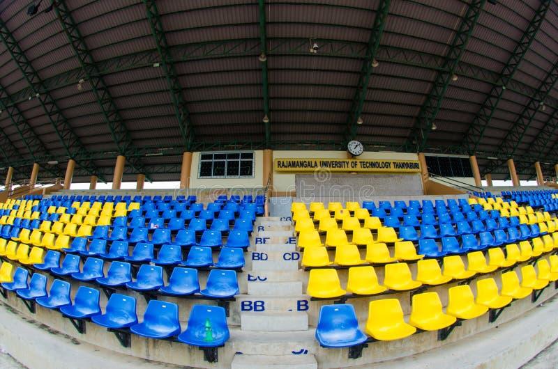 Asiento vacío del estadio fotos de archivo