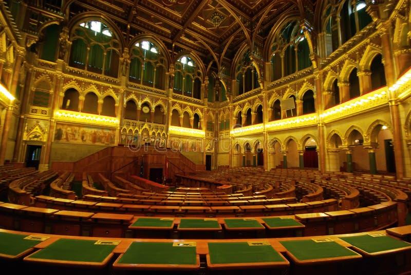 Asientos en el parlamento imagen de archivo libre de regalías