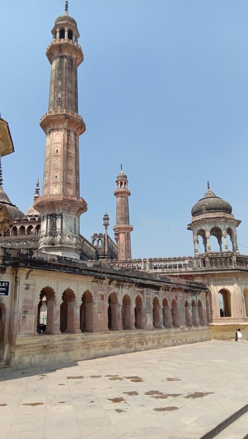 Asifi moské Lucknow arkivbild