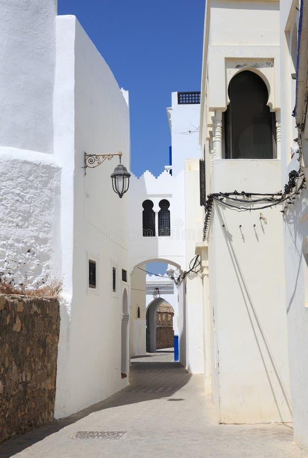 Asilah,摩洛哥麦地那  免版税库存图片