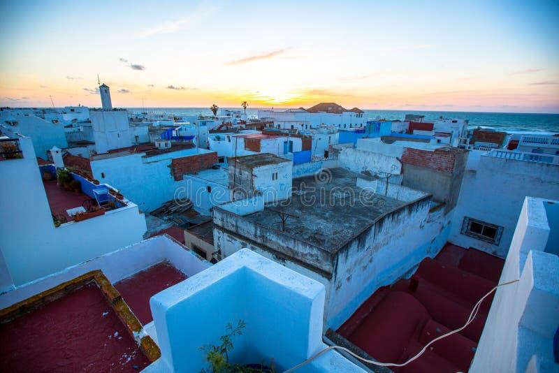 Asilah: Морокканский городок неизменно на протяжении веков стоковые фото
