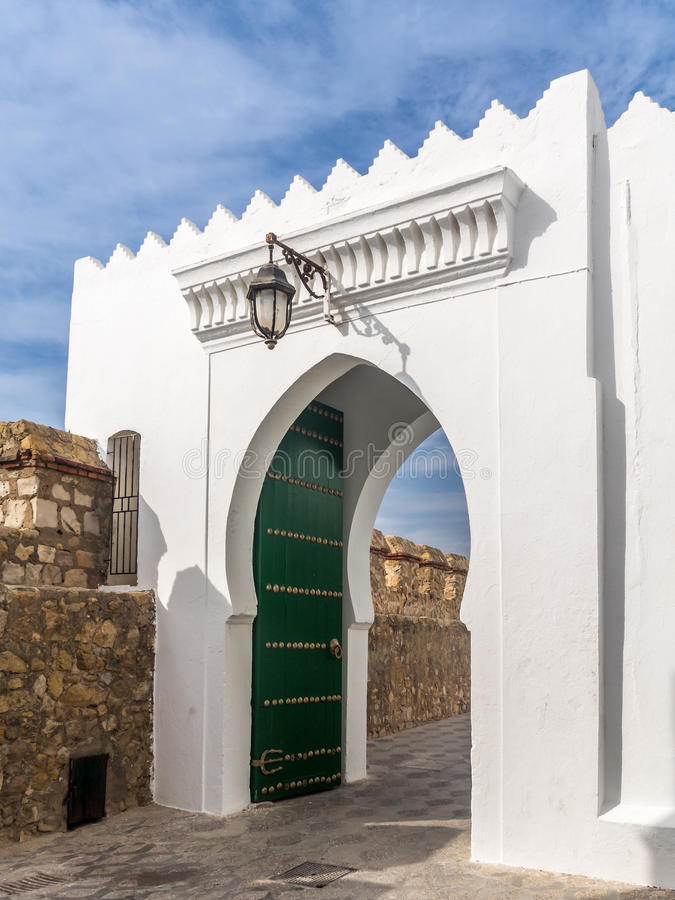 Asilah Marocko arkivfoto