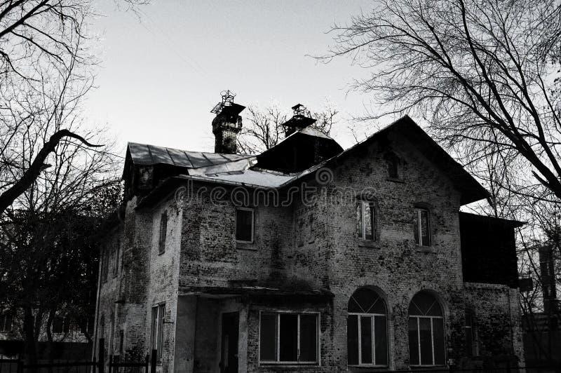 Asilo gotico fotografia stock libera da diritti