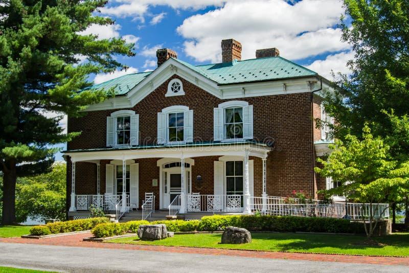 Asilo histórico B Casa de Howe fotos de archivo
