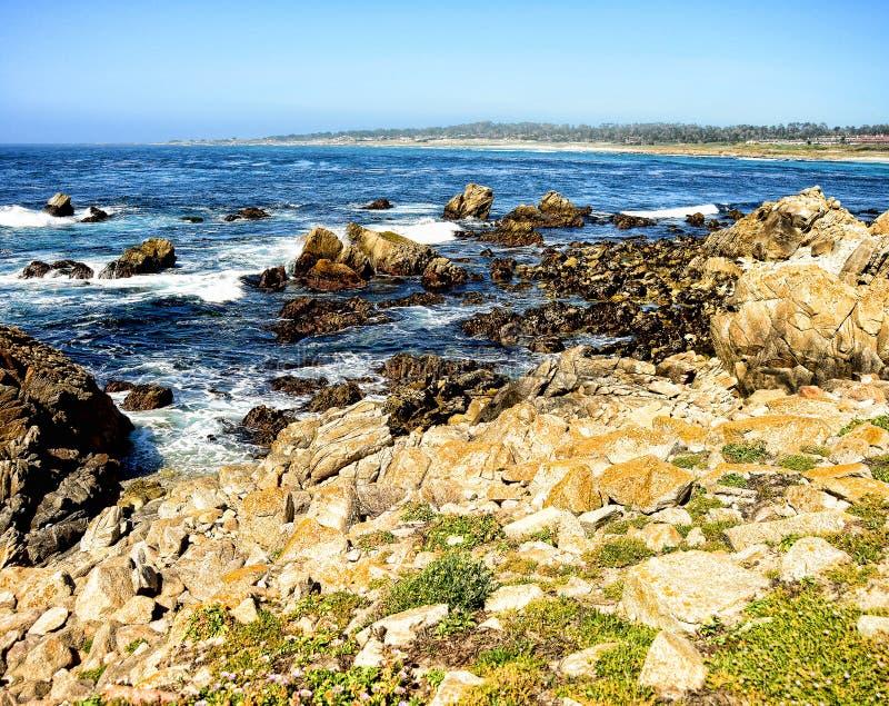 Asilomar State Marine Reserve California royalty free stock images