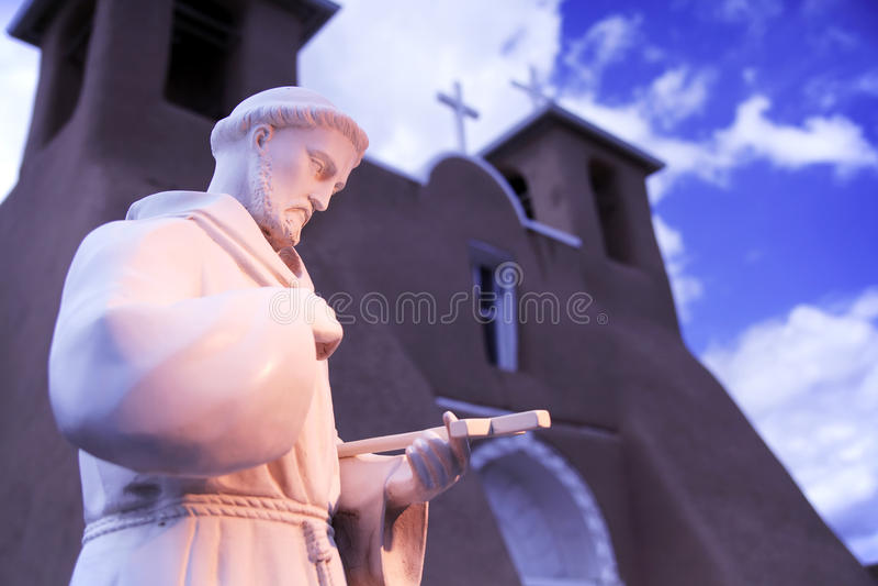 asis Kościół De Francisco San fotografia royalty free