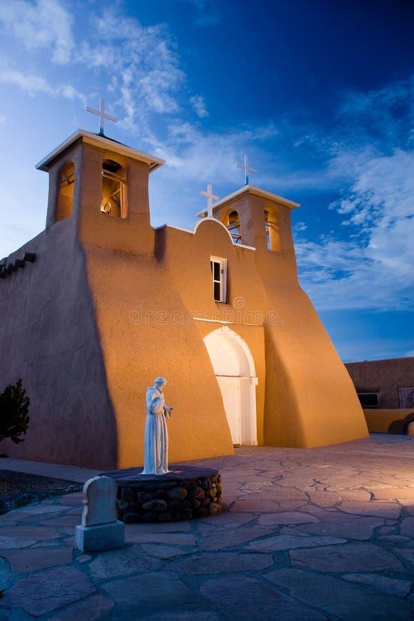 asis kyrkliga de francisco san royaltyfri foto