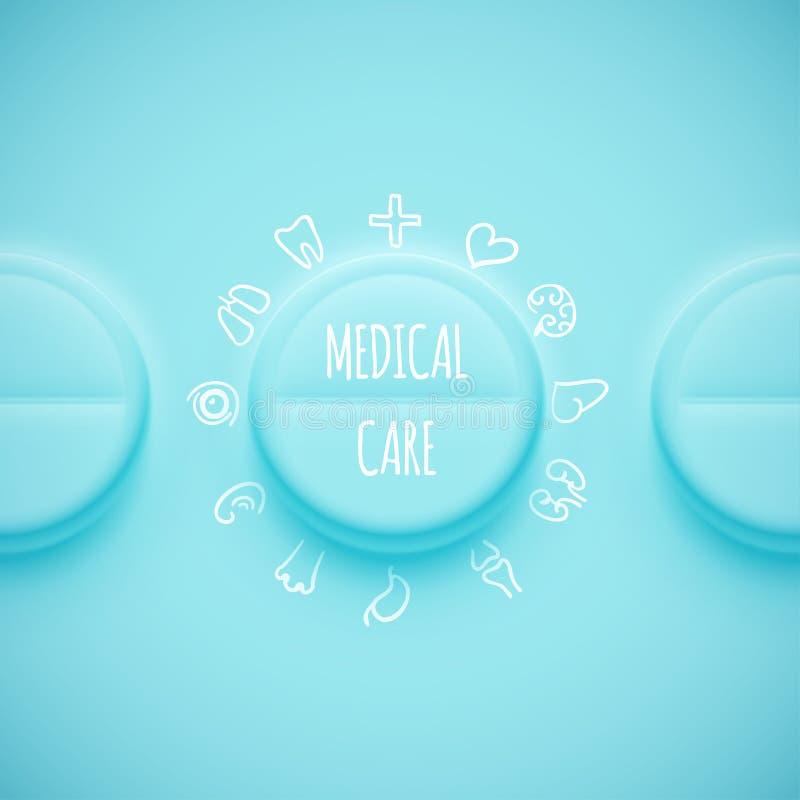 Download Asistencia médica ilustración del vector. Ilustración de icono - 42436847