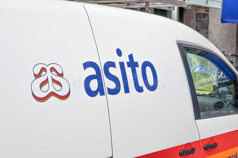 Asito Company Car At Amsterdam The Netherlands 2019.  stock photography