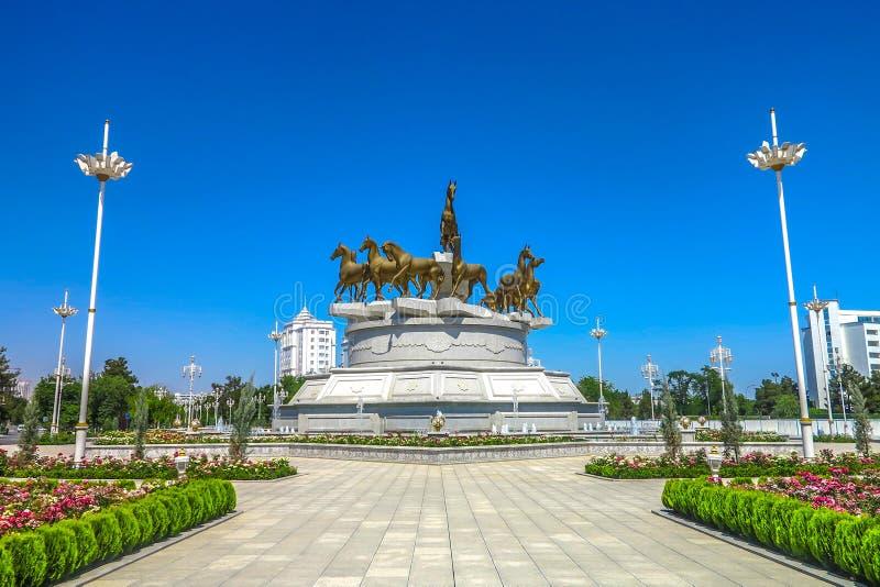 Asjabad Turkmenistán Akhal Teke 03 imagen de archivo libre de regalías