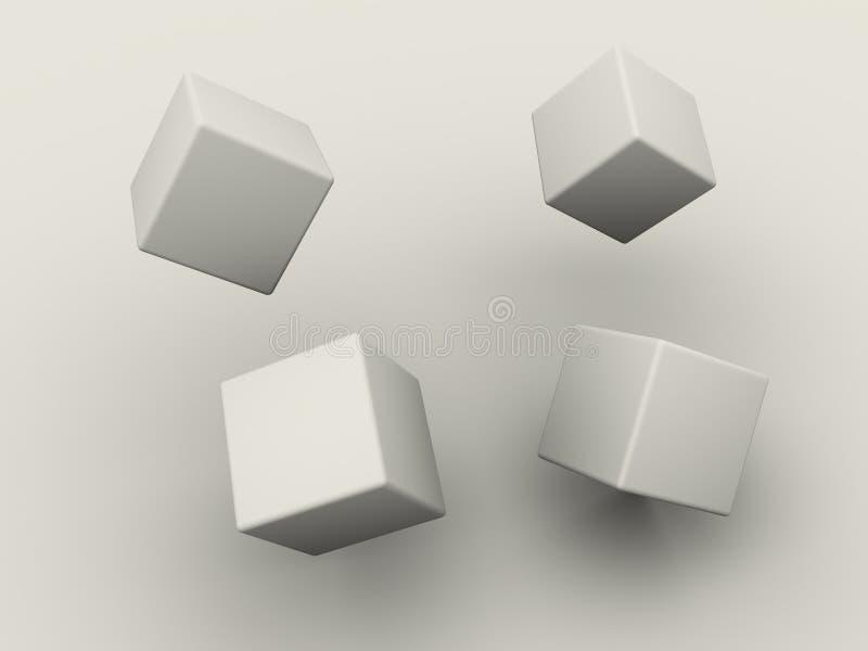 ask vektor illustrationer