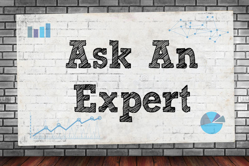 ask an expert royalty free stock image