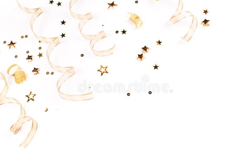 Askar band, stjärnor, klockor på bokehbakgrunden royaltyfri bild