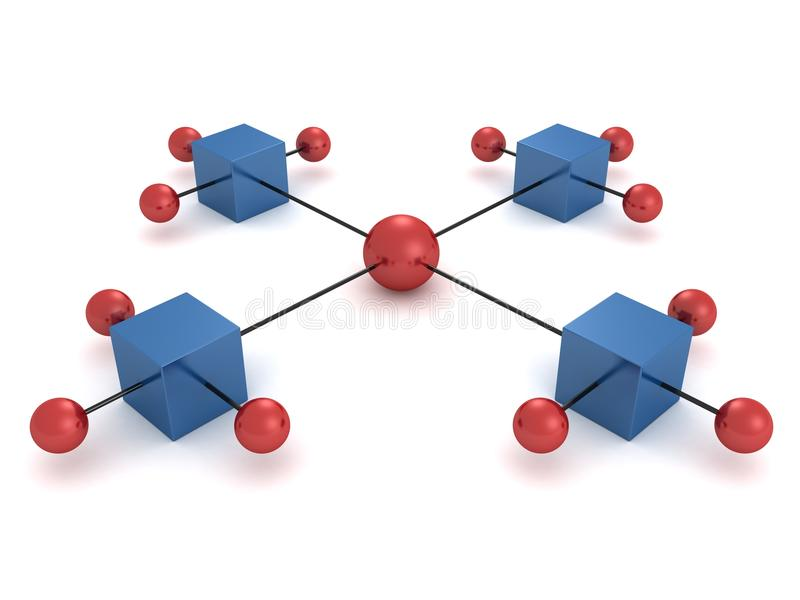 askar chart färgrika hierarkispheres stock illustrationer