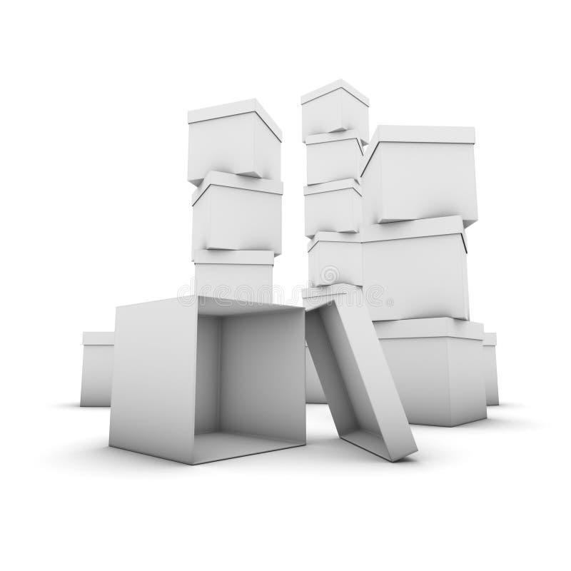askbuntar stock illustrationer
