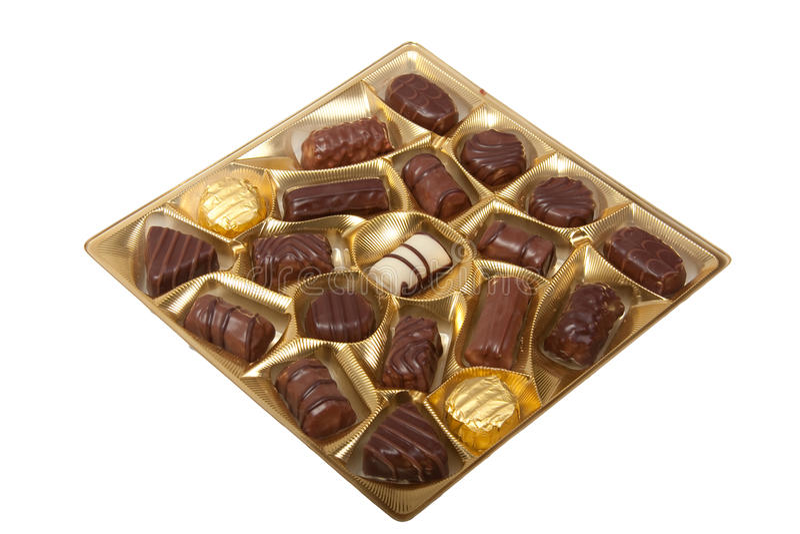 askchoklad royaltyfri foto