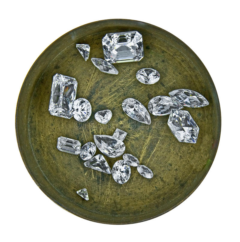 askdiamanter royaltyfri fotografi