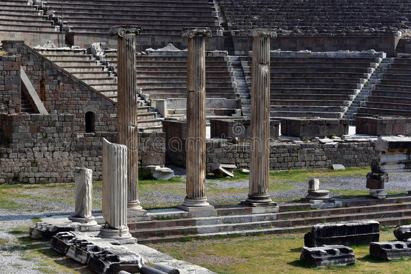 Asklepion des Pergamons lizenzfreie stockfotografie
