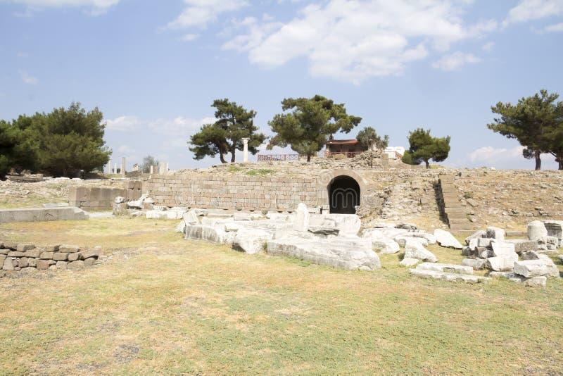 Asklepion di Pergamum immagine stock libera da diritti