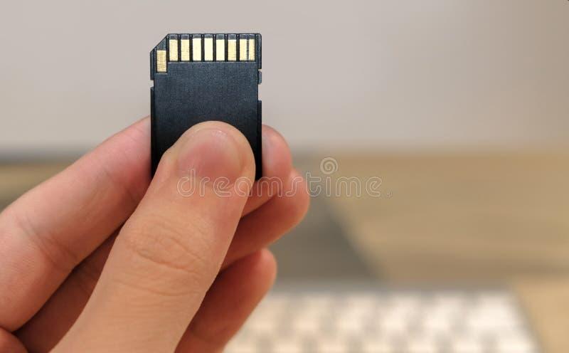 aslant задняя photoed память конца карточки помещенной вверх по была стоковое фото rf