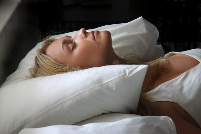 Asleep royalty free stock photography